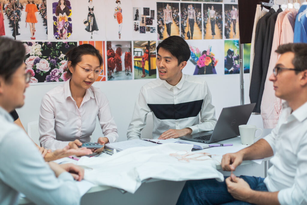 Apparel_Product_Development_Team_Assessing_Cost_of_Garment