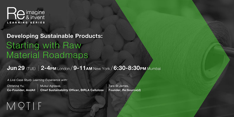 Developing Sustainable Products: Raw Material Roadmaps