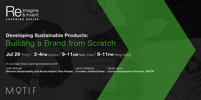 Developing Sustainable Products: Building a Brand from Scratch